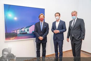 Sebastian Kurz Privatführung - Albertina, Wien - Mo 23.08.2021 - Trevor Dow TRAINA, Klaus Albrecht SCHRÖDER, Sebastian KURZ44