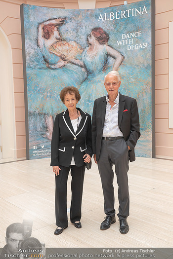 Ausstellungseröffnung american photography - Albertina, Wien - Mo 23.08.2021 - Karlheinz und Agnes ESSL2