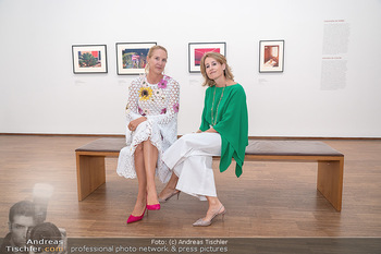 Ausstellungseröffnung american photography - Albertina, Wien - Mo 23.08.2021 - Eva DICHAND, Alexandra Ali GÜRTLER58