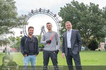Borotalco Weltrekord - Riesenrad, Wien - Do 26.08.2021 - Jörg GROSSAUER, Patrick FREISINGER, Erich BLIE7