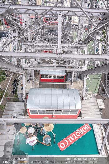 Borotalco Weltrekord - Riesenrad, Wien - Do 26.08.2021 - 28
