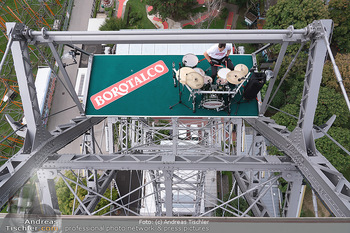 Borotalco Weltrekord - Riesenrad, Wien - Do 26.08.2021 - 31