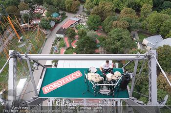 Borotalco Weltrekord - Riesenrad, Wien - Do 26.08.2021 - 32