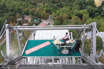 Borotalco Weltrekord - Riesenrad, Wien - Do 26.08.2021 - 33