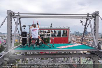 Borotalco Weltrekord - Riesenrad, Wien - Do 26.08.2021 - 49