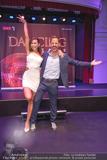 Dancing Stars Paar Präsentation - Lorely Saal, Wien - Mo 30.08.2021 - Bernhard KOHL, Vesela DIMOVA9