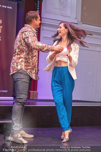 Dancing Stars Paar Präsentation - Lorely Saal, Wien - Mo 30.08.2021 - Otto KONRAD, Lenka POHORALEK37