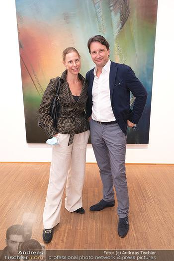 Ausstellungseröffnung Hubert Scheibl - Albertina, Wien - Mo 30.08.2021 - Gloria und Martin TRAXL4