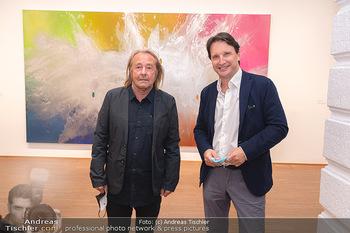 Ausstellungseröffnung Hubert Scheibl - Albertina, Wien - Mo 30.08.2021 - Hubert SCHEIBL, Martin TRAXL6