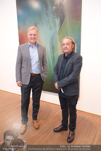 Ausstellungseröffnung Hubert Scheibl - Albertina, Wien - Mo 30.08.2021 - Klaus Albrecht SCHRÖDER, Hubert SCHEIBL18