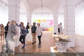 Ausstellungseröffnung Hubert Scheibl - Albertina, Wien - Mo 30.08.2021 - 21