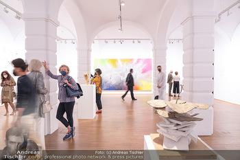 Ausstellungseröffnung Hubert Scheibl - Albertina, Wien - Mo 30.08.2021 - 22