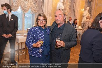 Ausstellungseröffnung Hubert Scheibl - Albertina, Wien - Mo 30.08.2021 - Lilli HOLLEIN, Hubert SCHEIBL52