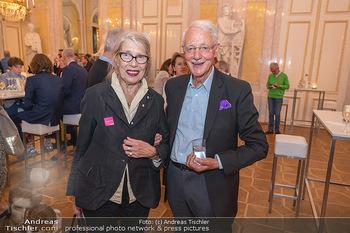 Ausstellungseröffnung Hubert Scheibl - Albertina, Wien - Mo 30.08.2021 - Martha JUNGWIRTH, Karlheinz ESSL53