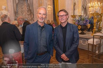 Ausstellungseröffnung Hubert Scheibl - Albertina, Wien - Mo 30.08.2021 - Erwin WURM, Hans-Peter WIPPLINGER62