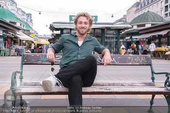 Interview Nathan Trent - Naschmarkt, Wien - Mi 01.09.2021 - Nathan TRENT11