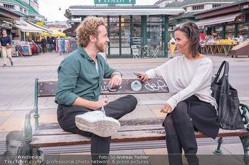 Interview Nathan Trent - Naschmarkt, Wien - Mi 01.09.2021 - Nathan TRENT im Interview mit Romina COLERUS13
