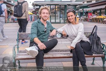 Interview Nathan Trent - Naschmarkt, Wien - Mi 01.09.2021 - Nathan TRENT im Interview mit Romina COLERUS14