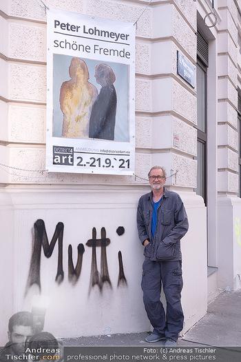 Peter Lohmeyer Vernissage - District4Art, Wien - Do 02.09.2021 - Peter LOHMEYER2