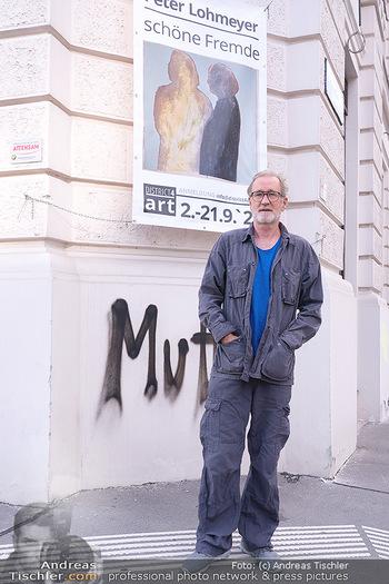 Peter Lohmeyer Vernissage - District4Art, Wien - Do 02.09.2021 - Peter LOHMEYER3