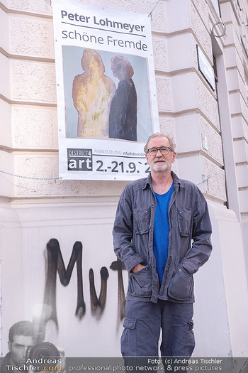 Peter Lohmeyer Vernissage - District4Art, Wien - Do 02.09.2021 - Peter LOHMEYER4