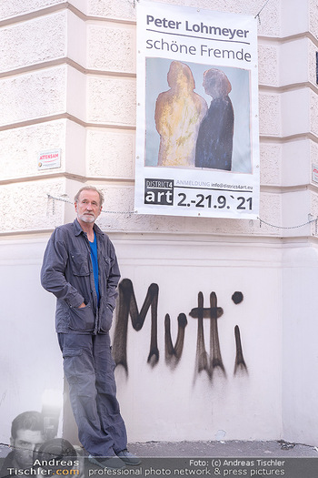 Peter Lohmeyer Vernissage - District4Art, Wien - Do 02.09.2021 - Peter LOHMEYER5