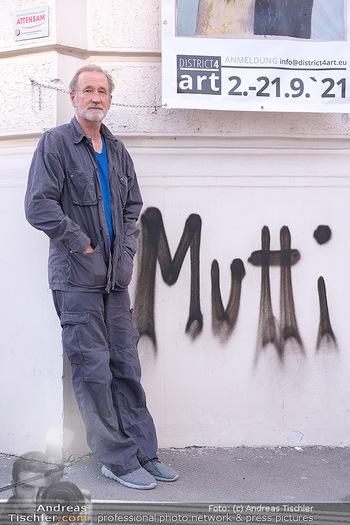 Peter Lohmeyer Vernissage - District4Art, Wien - Do 02.09.2021 - Peter LOHMEYER6