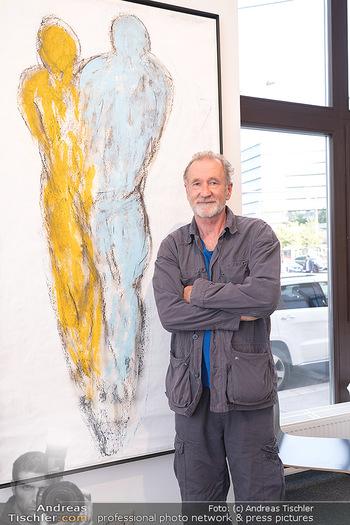 Peter Lohmeyer Vernissage - District4Art, Wien - Do 02.09.2021 - Peter LOHMEYER7