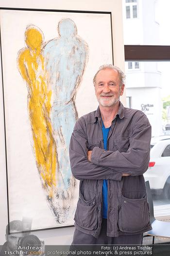 Peter Lohmeyer Vernissage - District4Art, Wien - Do 02.09.2021 - Peter LOHMEYER10