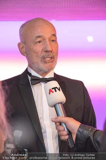 Duftstars Awards Gala - MQ Halle E, Wien - Do 02.09.2021 - Heiner LAUTERBACH (Interview, Mikrofon, Presse, ATV)33