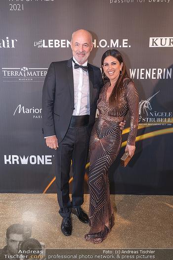 Duftstars Awards Gala - MQ Halle E, Wien - Do 02.09.2021 - Viktoria und Heiner LAUTERBACH49