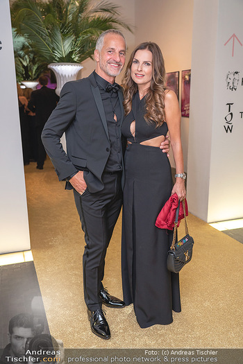 Duftstars Awards Gala - MQ Halle E, Wien - Do 02.09.2021 - Bettina ASSINGER mit Ehemann Achim WENINGER58