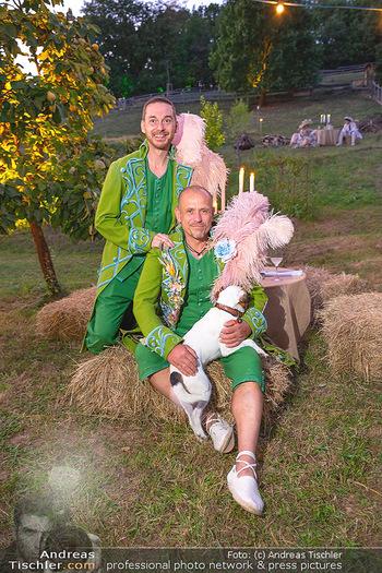 Rencontre a la campagne - Gery Keszlers Bauernhof, Burgenland - Sa 04.09.2021 - Gery KESZLER mit Freund Miha VEBERIC30