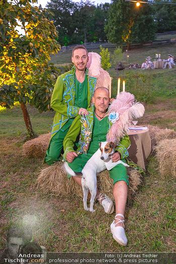 Rencontre a la campagne - Gery Keszlers Bauernhof, Burgenland - Sa 04.09.2021 - Gery KESZLER mit Freund Miha VEBERIC31