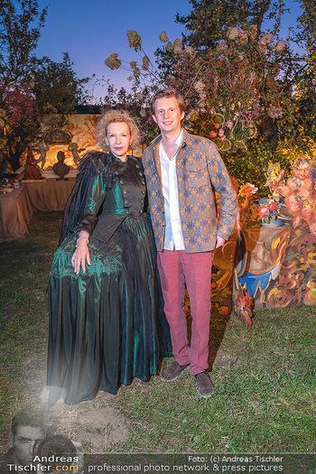 Rencontre a la campagne - Gery Keszlers Bauernhof, Burgenland - Sa 04.09.2021 - Sunnyi MELLES mit Sohn Constantin SAYN-WITTGENSTEIN41