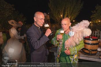 Rencontre a la campagne - Gery Keszlers Bauernhof, Burgenland - Sa 04.09.2021 - Toni FABER, Gery KESZLER mit Bier79