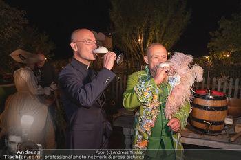 Rencontre a la campagne - Gery Keszlers Bauernhof, Burgenland - Sa 04.09.2021 - Toni FABER, Gery KESZLER mit Bier80