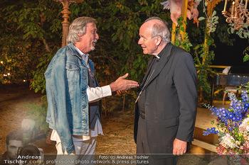 Rencontre a la campagne - Gery Keszlers Bauernhof, Burgenland - Sa 04.09.2021 - Kardinal Christoph SCHÖNBORN, Manfred WABA88