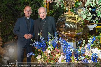 Rencontre a la campagne - Gery Keszlers Bauernhof, Burgenland - Sa 04.09.2021 - Toni FABER, Kardinal Christoph SCHÖNBORN91