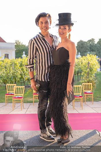 Runway Fashion Day - Schloss Schönbrunn, Wien - Di 07.09.2021 - Alexis F. GONZALEZ, Jenny POSCH7