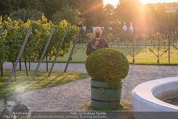 Runway Fashion Day - Schloss Schönbrunn, Wien - Di 07.09.2021 - Günther LÖFFELMANN, ORF8