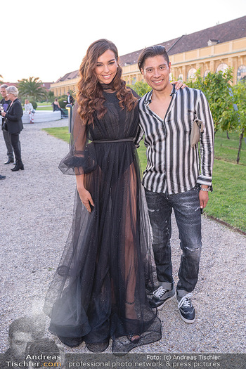 Runway Fashion Day - Schloss Schönbrunn, Wien - Di 07.09.2021 - Lili PAUL-RONCALLI, Alexis F. GONZALEZ31