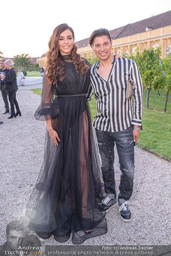 Runway Fashion Day - Schloss Schönbrunn, Wien - Di 07.09.2021 - Lili PAUL-RONCALLI, Alexis F. GONZALEZ32