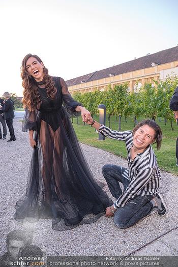 Runway Fashion Day - Schloss Schönbrunn, Wien - Di 07.09.2021 - Lili PAUL-RONCALLI, Alexis F. GONZALEZ33