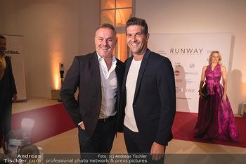 Runway Fashion Day - Schloss Schönbrunn, Wien - Di 07.09.2021 - Klaus PANHOLZER, Norbert OBERHAUSER62