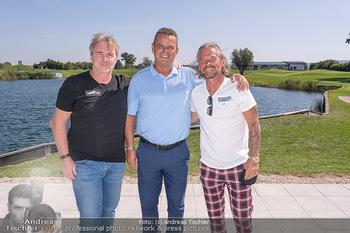 Promi Golfturnier - Diamond Country Club Atzenbrugg, NÖ - Mi 08.09.2021 - Frenkie SCHINKELS, Andy Andreas OGRIS, Manfred ZSAK3