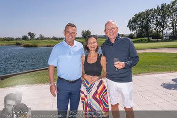 Promi Golfturnier - Diamond Country Club Atzenbrugg, NÖ - Mi 08.09.2021 - Manfred ZSAK, Romina COLERUS, Josef OISTRIC4