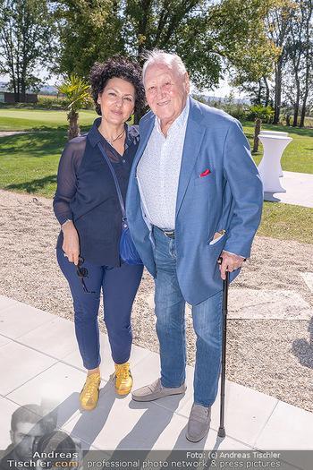 Promi Golfturnier - Diamond Country Club Atzenbrugg, NÖ - Mi 08.09.2021 - Karl und Rosi BLECHA12