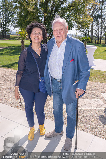 Promi Golfturnier - Diamond Country Club Atzenbrugg, NÖ - Mi 08.09.2021 - Karl und Rosi BLECHA13
