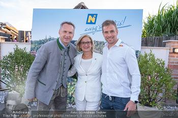 Mikl-Leitner Heurigenempfang - Der Fuchs Heuriger, Maria Enzersdorf - Do 09.09.2021 - Toni PFEFFER, Johanna MIKL-LEITNER, Benjamin KARL3